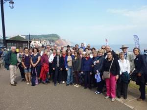 Twinning visit UK Sidmouth group
