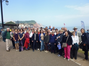 Twinning visit UK Sidmouth group