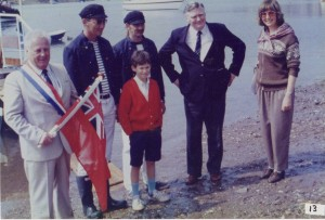 Naming of Teignmouth to Shaldon Ferry 1989 - 'Perros Guirec'