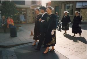 Breton Parade in Perros Gurec 1995